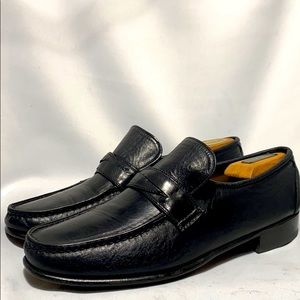 Whippet Wright arch preserver shoes hand sewn Blk